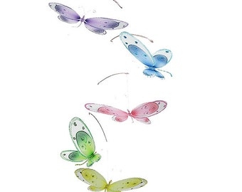 Dragonfly mobile Avery - baby mobile, ceiling mobile, hanging dragonfly, crib mobile, baby room decor, nursery decor, nursery decoration