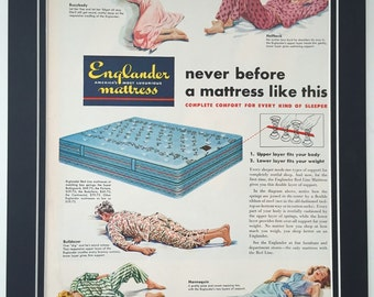 mattress ad on Etsy a global handmade and vintage