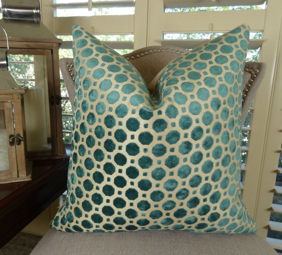 Luxury designer decorative throw pillow cover geometric for Luxury decorative throw pillows