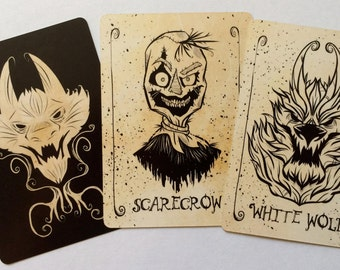 Werewolf: All Hallows' Eve Expansion Cards ***SUPER SALE extended***
