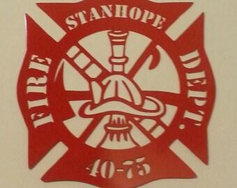 Florian Fire Fighter's Cross