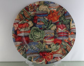 Country Kitchen Decorative Plate