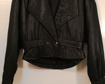 Lovely Leather Jacket - Small