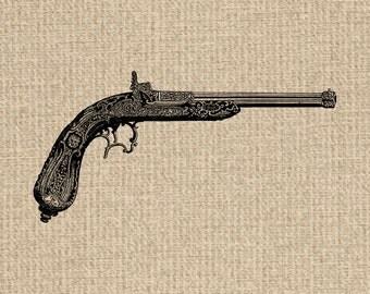 Antique Gun Image Victorian Gun Images Gun Clipart Gun Graphics Gun Clipart Digital Sheet Download 300dpi
