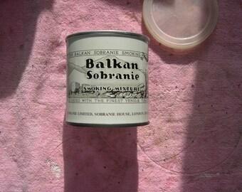 Balken Sobranie Tobacco Tin