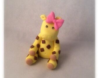 Giraffe Boy or Girl Topper