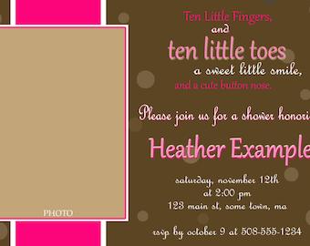 BABY SHOWER Invitation - PRINTABLE!