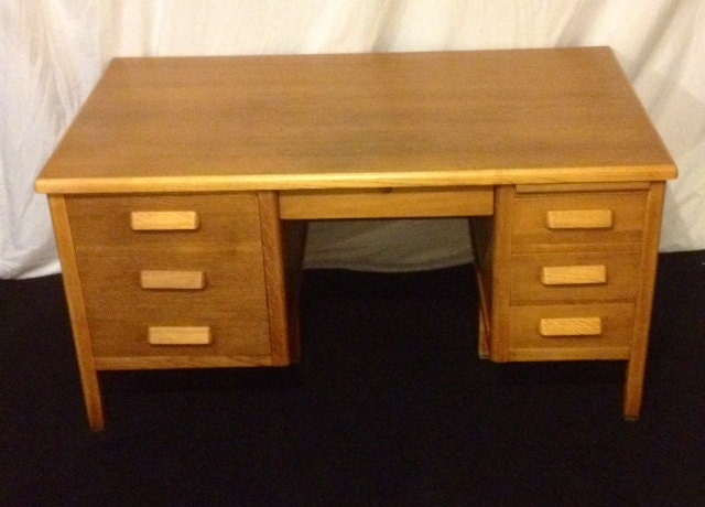 Items similar to Antique Jasper fice Furniture Co Solid