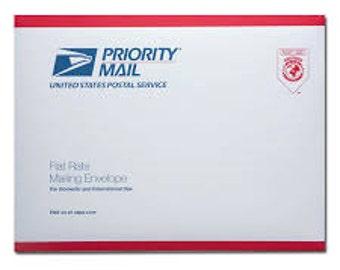 Edible Image Flat Rate Envelope Priority Upgrade
