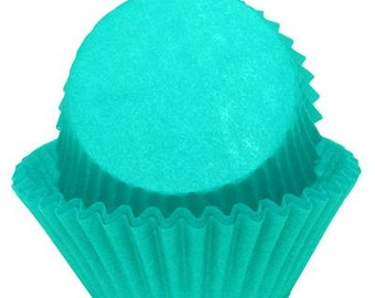 TEAL Cupcake Papers