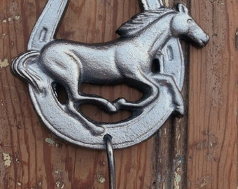 Horse Hook Wall Decoration Western Horse Horseshoe Hanger Jewelry Chic