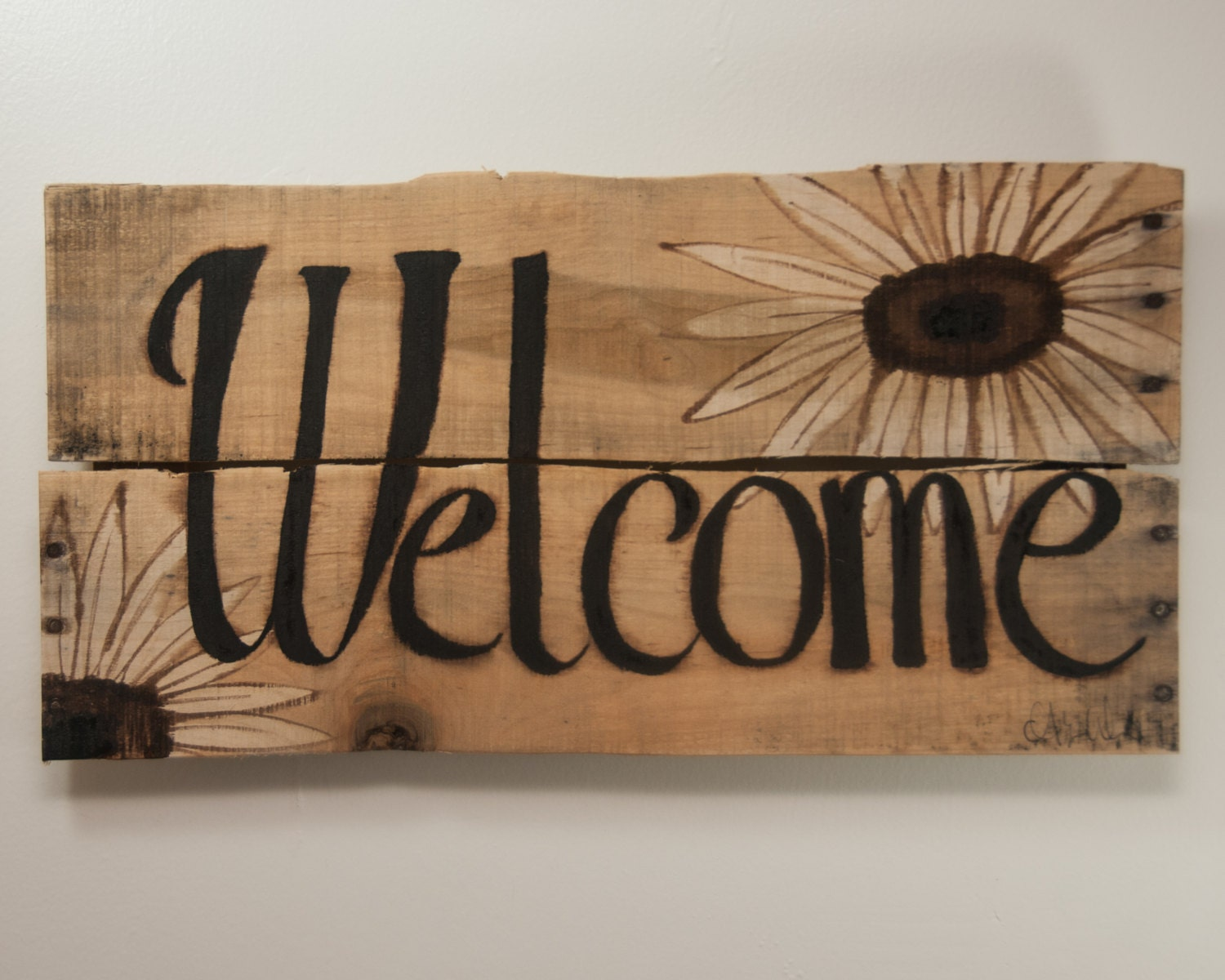New for Home Welcome Sign Rustic welcome sign by SimplyPallets