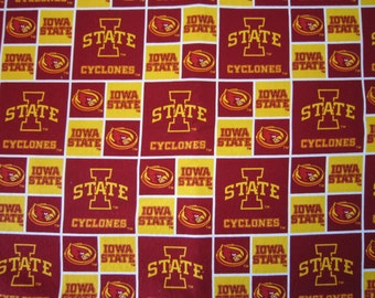 Baby Crib Sheet or  Toddler Bed Sheet - Iowa State Cyclones