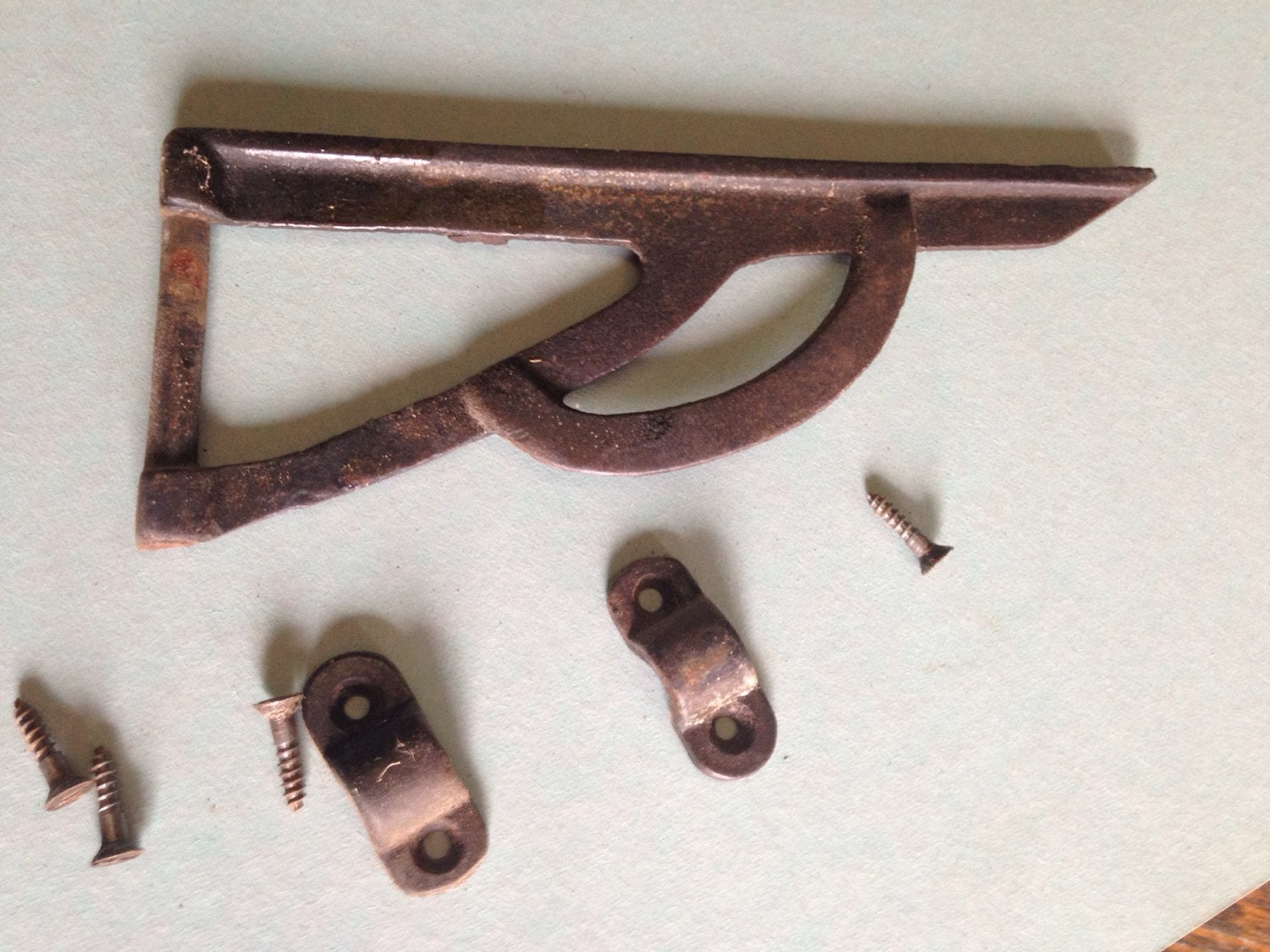 Antique support hinge for drop leaf table steel or by watchtopia - Drop leaf table hardware ...