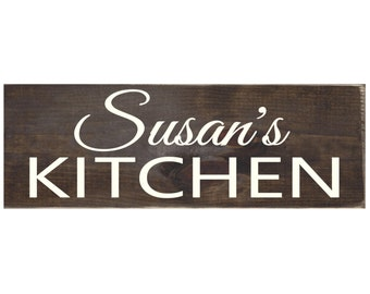 Personalized Rustic Wood Sign Kitchen / Wall Art / Home Decor / Kitchen Decor (#1365)
