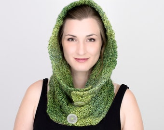 Lady of the Forest - Convertible Shawl and Hood