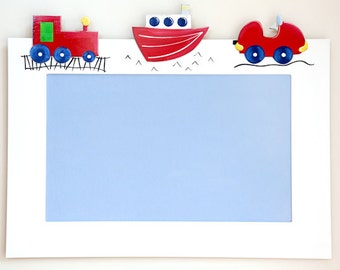 Pin Board - Transport Design - Photo Board, Art Display, Notice Board, Memo Board, Pin Board