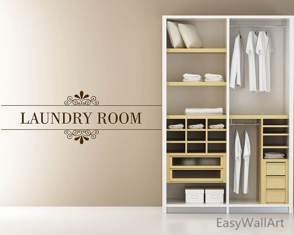 Laundry room decor laundry room wall decal laundry room zoom amipublicfo Image collections