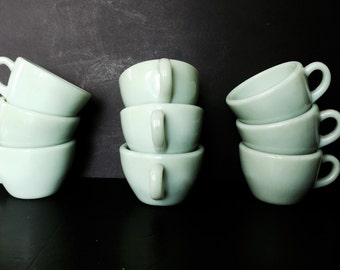 Fire King Jadeite Restaurantware C-Handled Cups