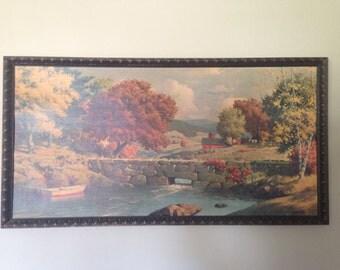 Westal painting 'Autumn Landscape'.