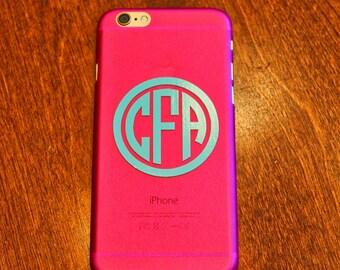 Monogrammed iPhone 6 Case