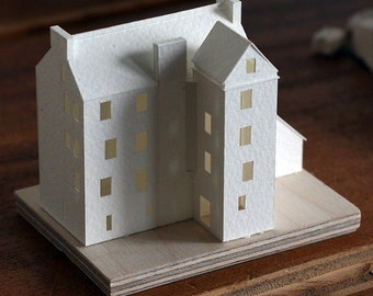 Tower house - Paper Model