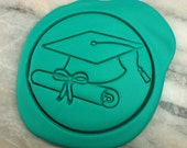 Graduation Cookie Cutter - CHOOSE Your OWN SIZE - Fast Shipping!