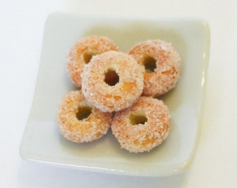 2 Miniature Donuts, C-3