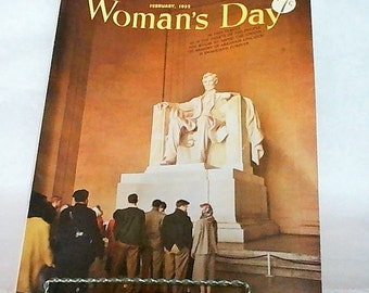 Womans Day Magazine, Febuary 1952!!!!