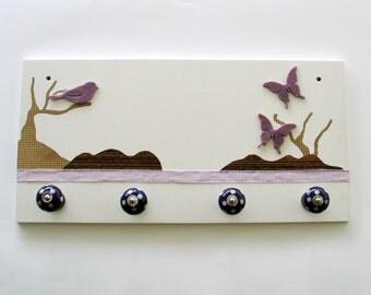 Wardrobe 'Butterfly purple'