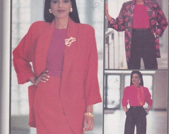 Butterick 6812 Vintage Pattern Womens Skirt, Pants, Top and Jacket Size 18,20,22 UNCUT