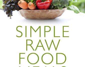 Raw Food Low Fat Recipes e-book