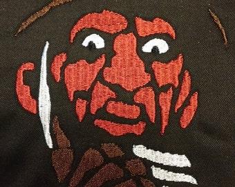 Freddy Krueger Patch from A Nightmare on Elm Street Wes Craven Robert Englund Original Horror Movie Halloween Inspired