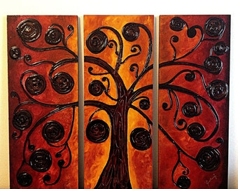 Abstract Treeptic.