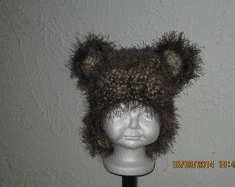 Fun and Fuzzy Hat with ears