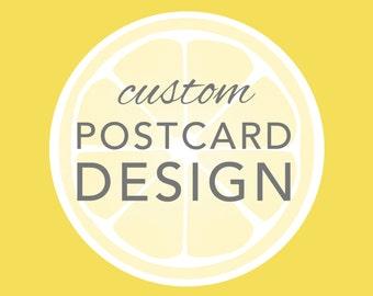 Custom Design - New Postcard Invitation (OOAK)