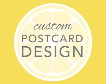Custom Design - New Postcard Invitation