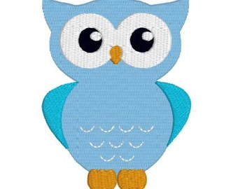Embroidery File Design Pattern Owl