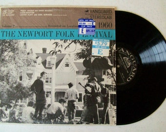 VARIOUS The Newport Folk Festival 1960 Vol.2 LP Vanguard VSD-2088
