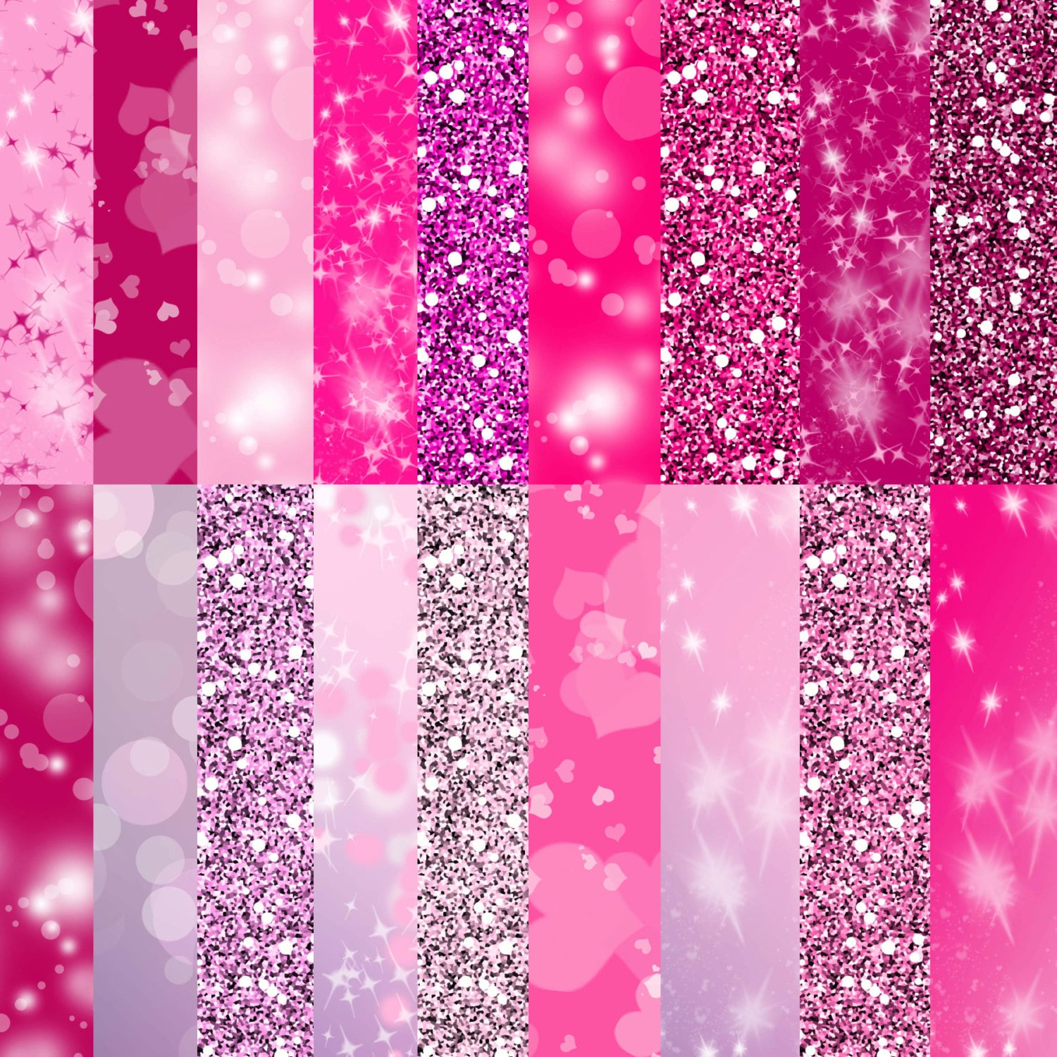 This is a picture of Fabulous Printable Glitter Paper