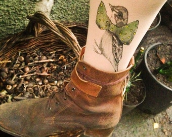 Bird Tattoo socks