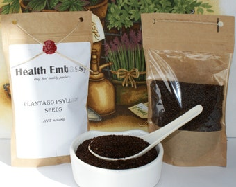 Plantago Psyllium Seds - Health Embassy - Organic
