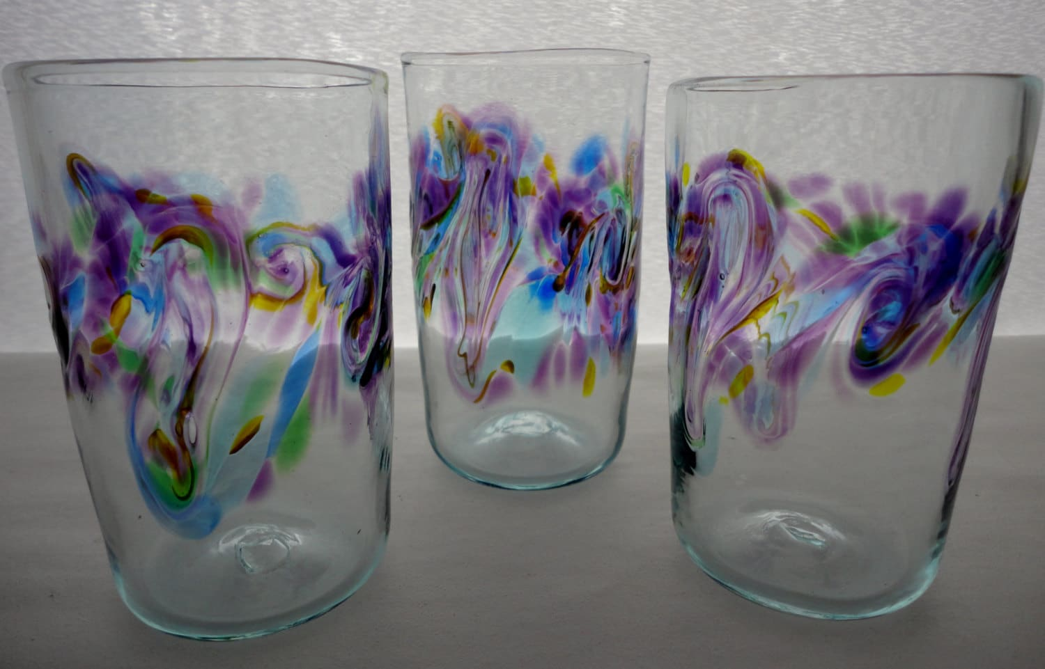 Blown Glass Tumblers. Montreal Color Design by ...