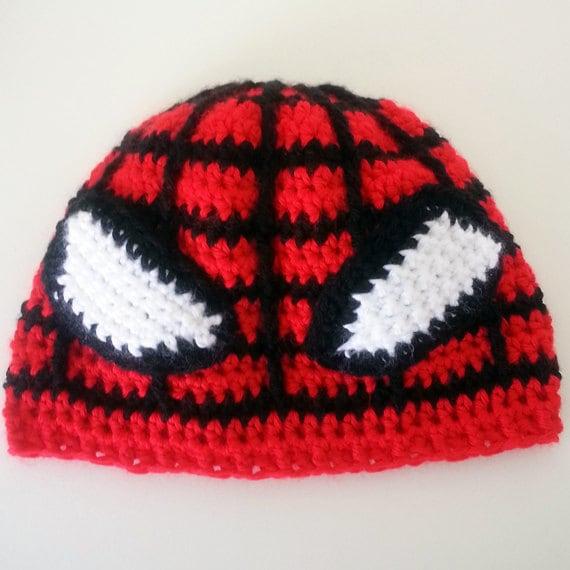 Free Crochet Pattern For Spiderman Beanie Dancox For