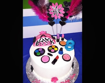 Edible Cake Decorations Makeup : Popular items for painted eye on Etsy