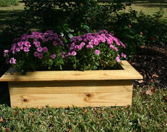 Rustic Cedar Outdoor Planter Box