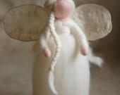 Snow angel, Wool fairy ta...