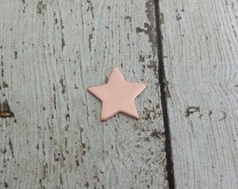 Copper Star Blank - Star Stamping Blank - 20 Gauge Copper Stamping Blank