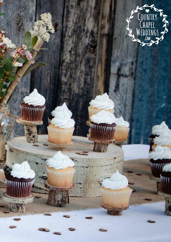20 Rustic Cupcake Stands