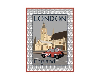 Giclee Print: London England